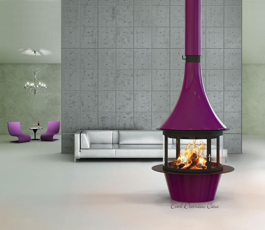 chemin e 20 centrale suspendue avec une magnifique vue du. Black Bedroom Furniture Sets. Home Design Ideas