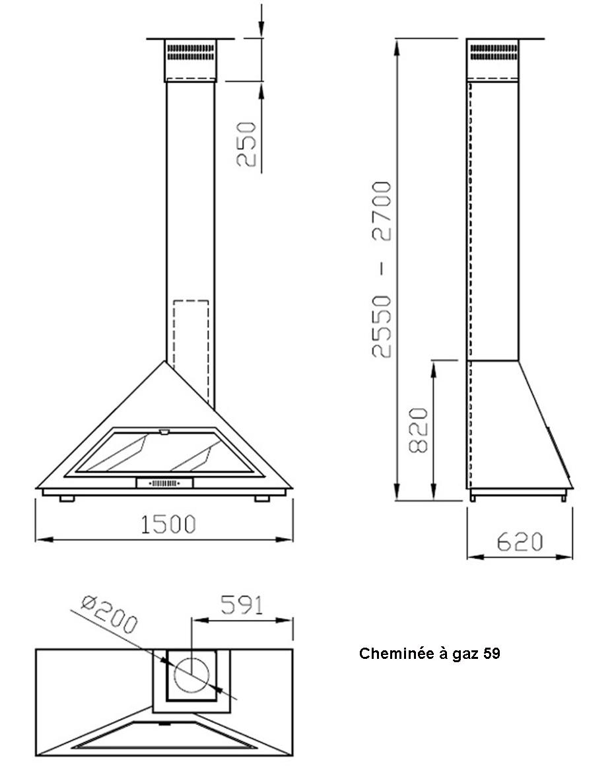 cheminées gaz 59