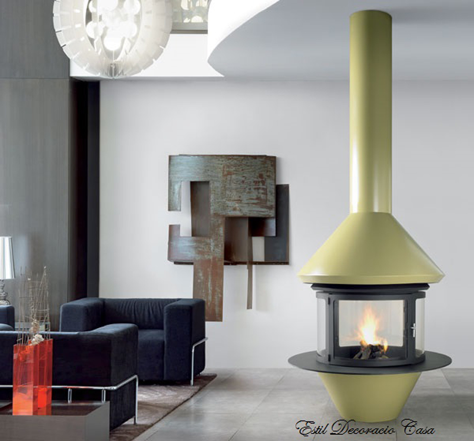 chemin e gaz 76 centrale hotte suspendue permettant de b n ficier d 39 une excellente vision. Black Bedroom Furniture Sets. Home Design Ideas