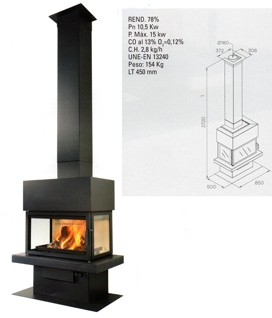 chemin e 3 vitres id ale pour chauffer et voir le feu prix abordable. Black Bedroom Furniture Sets. Home Design Ideas