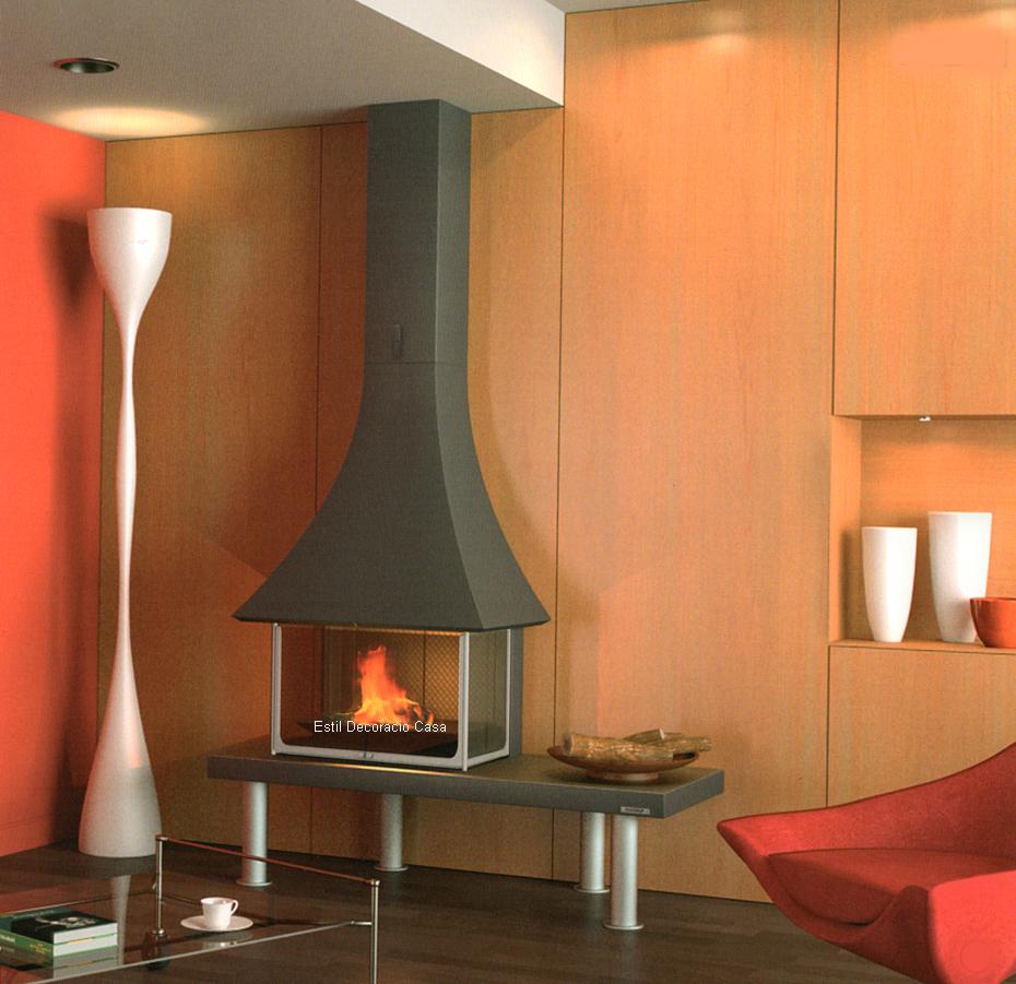 cheminée bois 95