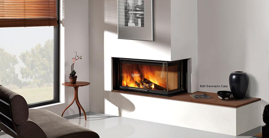 grand insert 05 bois installer dans un angle excellent rendement puissant avec prix pas cher. Black Bedroom Furniture Sets. Home Design Ideas